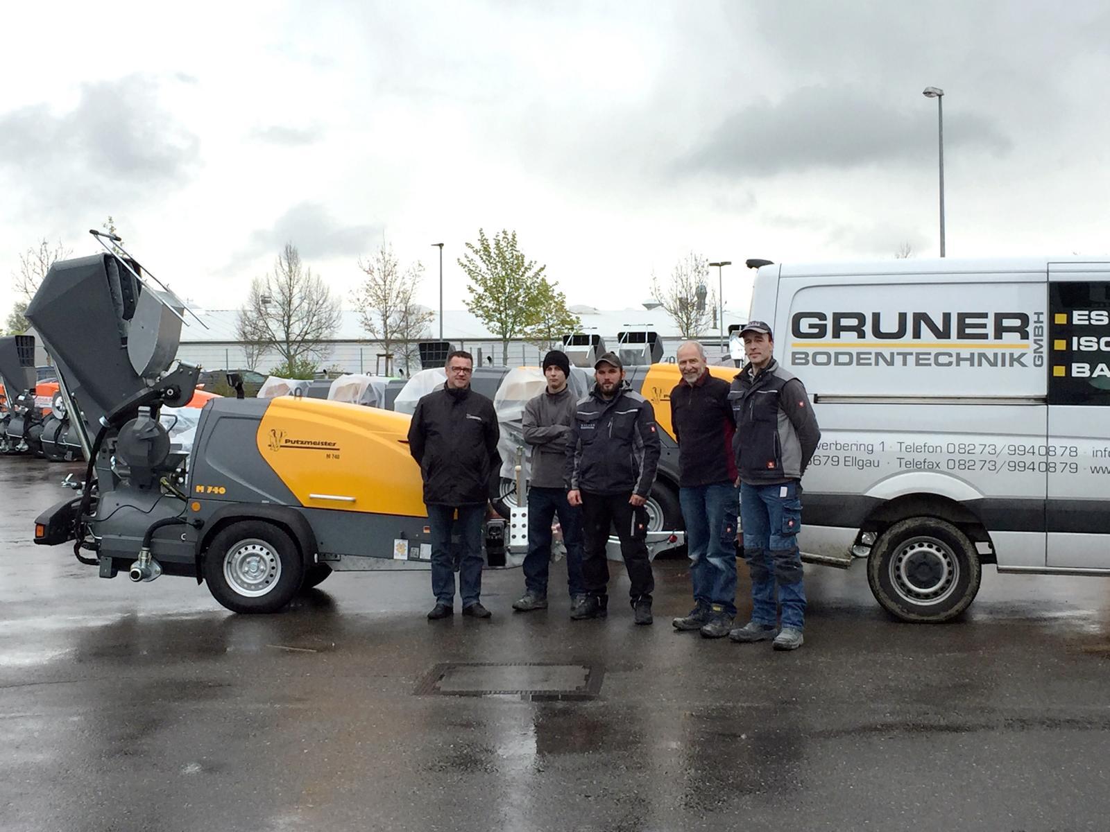 Gruner-M740-Übergabe